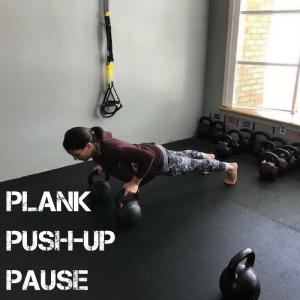 PlankPush-upPause