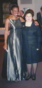 Post-concert in 2002 with my former voice teacher, Sheila Fiumarello. I miss you, Sheila! RIP.