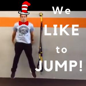 We like to jump!