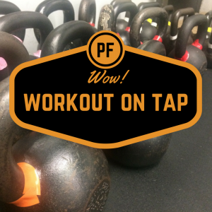 Workout on tap