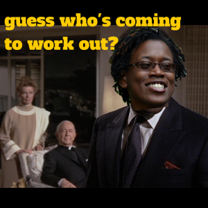 guess who's coming to work out_